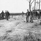 New 5x7 Civil War Photo: Winter Quarters of the 13th New York Heavy Artillery