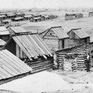 New 5x7 Civil War Photo: Confederate Winter Quarters at Manassas, Virginia