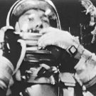 New 5x7 NASA Photo: Astronaut Alan Shepard in Flight, 1st American in Space