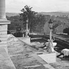 New 5x7 Civil War Photo: Steps of the Capitol Building in Nashville, Tennessee