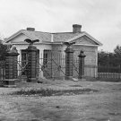 New 5x7 Civil War Photo: Gettysburg National Cemetery Entrace Gate in 1865