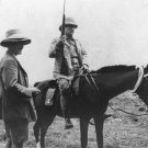 New 5x7 Photo: President Theodore Roosevelt on Horseback in Africa, 1910