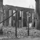 New 5x7 Civil War Photo: Court House Ruins at Chambersburg, Pennsylvania