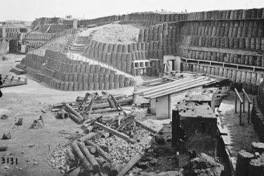 New 5x7 Civil War Photo: Interior View of Fort Sumter, South Carolina