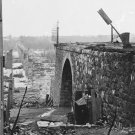 New 5x7 Civil War Photo: Ruins of Richmond & Danville Railroad Bridge in 1865