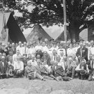 New 5x7 Civil War Photo: Confederate Veterans in Camp at 50th Gettysburg Reunion