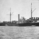 New 5x7 Civil War Photo: USS MALVERN at Hampton Roads, Norfolk Virginia