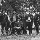 "New 5x7 Civil War Photo: Union - Federal General William ""Baldy"" Smith & Staff"