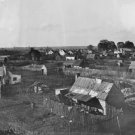 New 5x7 Civil War Photo: Town View of Hampton, Virginia