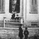 New 5x7 Photo: Abraham Lincoln and sons at his Home in Springfield, Illinois
