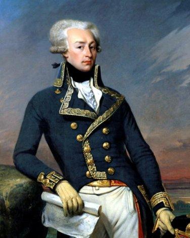 New 8x10 Photo: Revolutionary War Gen. Gilbert du Motier, Marquis de Lafayette