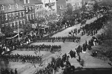 New 4x6 Photo: Funeral Procession of President Abraham Lincoln, Washington D.C.