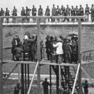 New 4x6 Photo: Adjusting Ropes for Hanging Execution of Lincoln Conspirators