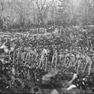 New 4x6 Photo: Crowd Lined for 2nd Inauguration of President Abraham Lincoln