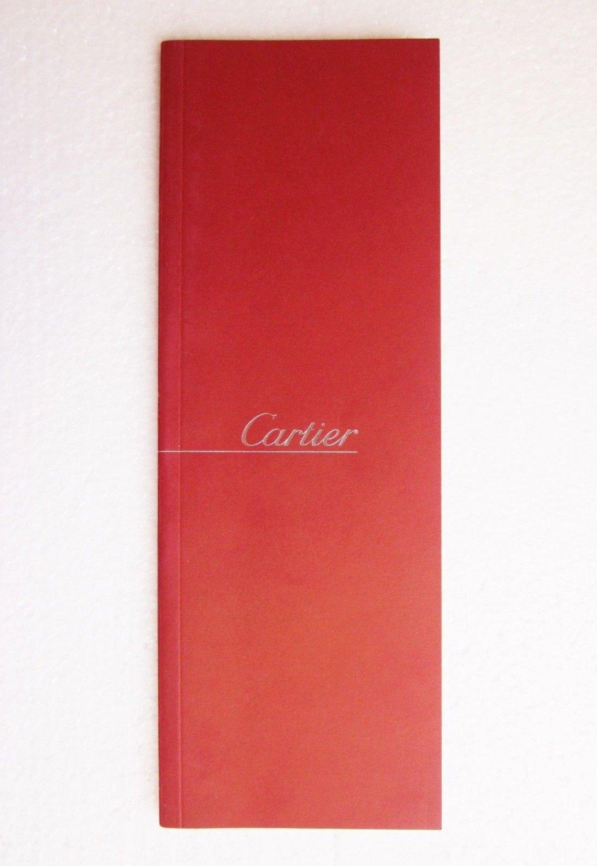 LOUIS CARTIER - PENS & FOUNTAIN BROCHURE CATALOG