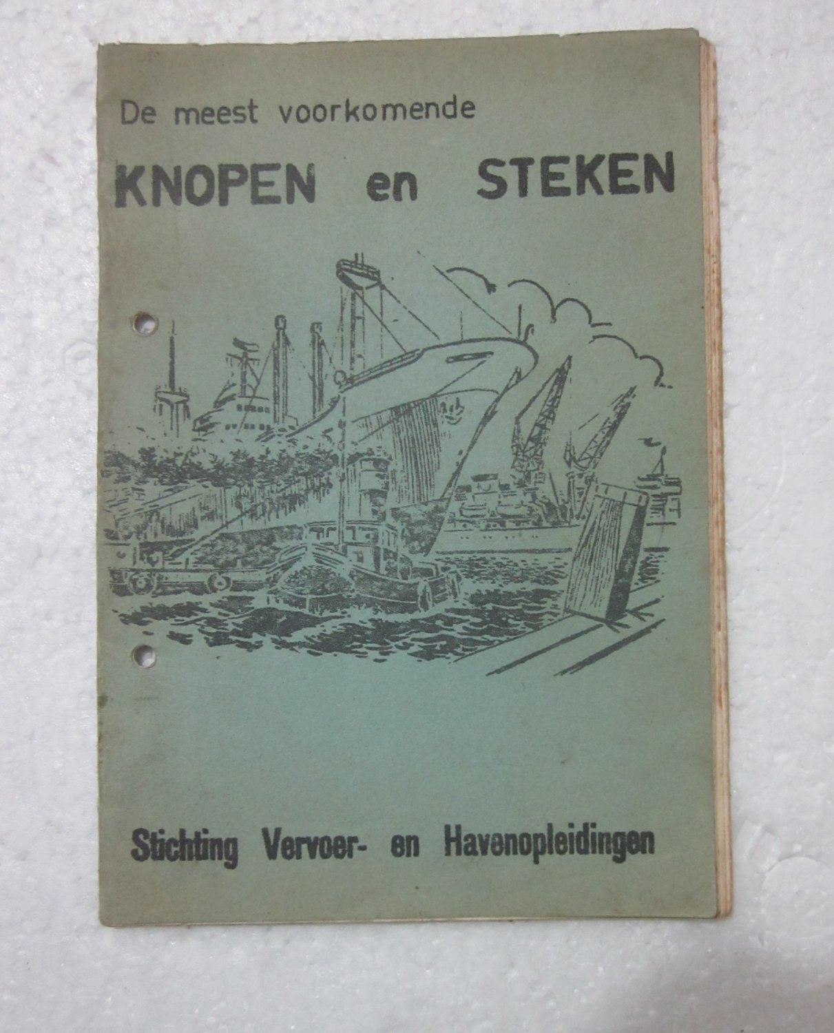 Vintage KNOTS for Port's Jobs Catalogue - KNOPEN EN STEKEN-