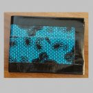 Duct tape bi-fold wallet Blue Lace