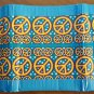 Duct tape tri-fold wallet Peace Sign