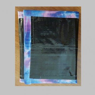 Duct tape tri-fold wallet Black