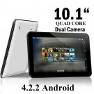 New 10.1 Inch Google Android 4.2.2 Tablet 8GB Dual Camera Quad Core 1GB RAM HDMI
