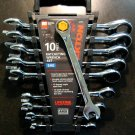 New MIT 10-Pc. Ratcheting Wrench Set SAE #2107