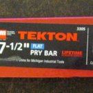 "New Tekton MIT 7 1/2"" Utility Pry Bar # 3305"