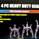 Grip Tight Tools 4-Pc. 3 Jaw H.D. Gear Puller Set #CGP4P