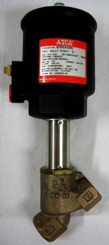 New ASCO ¾ NPT angle-seat valve 8290A005 bronze body #TADK051810