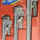 "MIT 3-Pc Aluminum Pipe Wrench Set 14"", 18"", 24"" #2368"