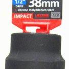 "MIT 1/2"" Dr. x 38MM Deep Impact Socket #4938"