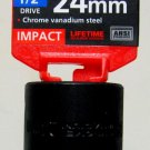 "MIT 1/2"" Dr. x 24MM Deep Impact Socket #47814"