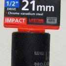 "MIT 1/2"" Dr. x 21MM Deep Impact Socket #47812"