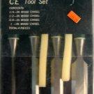 CE Tool 4-Pc. Wood Chisel Set #1081