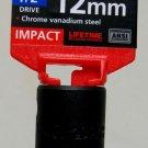 "MIT 1/2"" Dr. x 12MM Deep Impact Socket #47803"