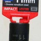 "MIT 1/2"" Dr. x 11MM Deep Impact Socket #47802"