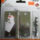 "National Hardware 3-1/2"" Residential Stainless Steel Door Hinge #V514 N225-920"
