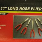 "American Tool Exchange 5-Pc 11"" Long Nose Pliers Set #93360"