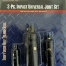MIT Impact 3-Piece Universal Joint Set #4963