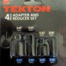 New MIT Impact 4-Piece Adapter & Reducer Set #4958