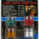New GripTight Tools 15-Pc. Auto Fuse Set