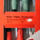 New Grip Tight Tools 4-Pc. Soft Grip Screwdriver Set