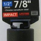 "New MIT 1/2"" Dr. x 7/8"" SAE Shallow Impact Socket #47757"