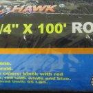 "New Cal-Hawk 1/4"" x 100' Rope - Assorted Colors  #CZR2100C"