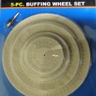 New Cal-Hawk 5-pc. Buffing Wheel Set # CZBW5P