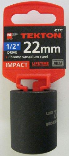 "New MIT 1/2"" Dr. x 22MM Shallow Impact Socket #47777"