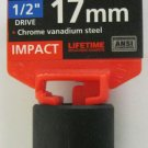 "New MIT 1/2"" Dr. x 17MM Shallow Impact Socket #47772"