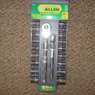 New Allen Industrial Tools 20 Pc. Sockets SAE & MM