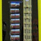 "New MIT 9 Pc 1/4"" Dr. Socket Set SAE #1804"