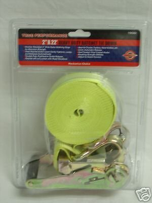 "New Allied Intl 2"" x 27' Heavy Duty Ratchet Tie Down"