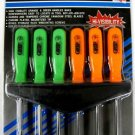 New Grip 6-Pc. Star Screwdriver With Rack